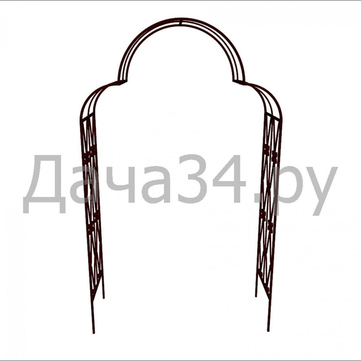 Арка садовая кованая А-05